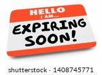 expiring soon last final chance ...   Shutterstock . vector #1408745771