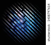 abstract halftone background... | Shutterstock .eps vector #1408797614