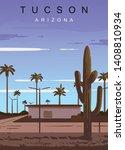 Tucson Modern Vector Poster....