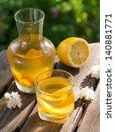 refreshing fruit lemonade or... | Shutterstock . vector #140881771