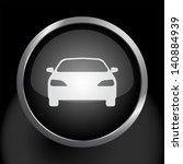 car icon symbol on black metal... | Shutterstock .eps vector #140884939