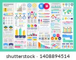 infographic teamwork vector... | Shutterstock .eps vector #1408894514