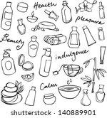 health beauty   wellness icons | Shutterstock .eps vector #140889901