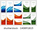 big collection of colorful... | Shutterstock .eps vector #140891815