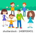 cartoon illustration of... | Shutterstock .eps vector #1408930451