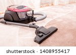 house cleaning. vacuum cleaner... | Shutterstock . vector #1408955417