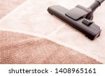 house cleaning. vacuum cleaner... | Shutterstock . vector #1408965161