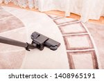 house cleaning. vacuum cleaner... | Shutterstock . vector #1408965191