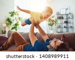 Father\'s Day. Happy Family Son...