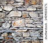 old stone wall texture... | Shutterstock . vector #1409003171