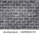 black brick wall background... | Shutterstock . vector #1409003174