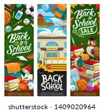 back to school invitation and... | Shutterstock .eps vector #1409020964