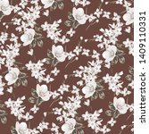 fashionable pattern in small... | Shutterstock .eps vector #1409110331