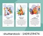 musicians classical and jazz... | Shutterstock .eps vector #1409159474