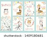 Collection Of Animal Party Set...