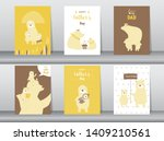 set of happy father's day card  ...   Shutterstock .eps vector #1409210561