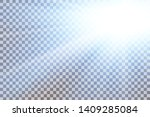sky sun flare  transparent... | Shutterstock .eps vector #1409285084