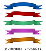 ribbon sewn embroidery color... | Shutterstock .eps vector #140930761