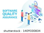 software quality assurance... | Shutterstock .eps vector #1409330834