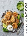 delicious salmon and quinoa... | Shutterstock . vector #1409333387