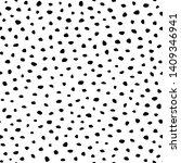 background polka dot. seamless... | Shutterstock .eps vector #1409346941