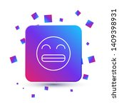 trendy square with particles... | Shutterstock .eps vector #1409398931