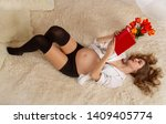 a beautiful young girl in the...   Shutterstock . vector #1409405774
