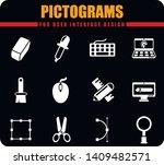 design professional pictograms... | Shutterstock .eps vector #1409482571