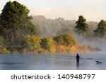 Fishing  Fishing In A Lake ...