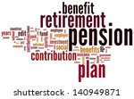 pension and retirement based... | Shutterstock . vector #140949871