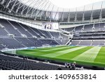 Small photo of London, England - 05.12.2019: Tottenham Hotspur Stadium is a stadium that serves as the home for Tottenham Hotspur in north London, replacing the club's previous stadium, White Hart Lane. Before Match