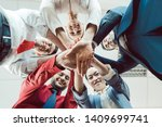 Team Of Diverse Business Peopl...