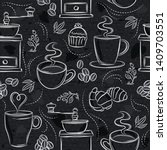 Seamless Patterns With Coffee...