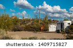 Horse And Trailer With Arizona...