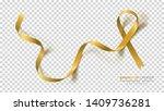 childhood cancer awareness... | Shutterstock .eps vector #1409736281