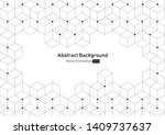 abstract geometric background...   Shutterstock .eps vector #1409737637