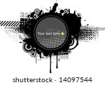 grunge background so you can... | Shutterstock .eps vector #14097544