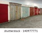 Old Worn Abandoned Garages