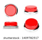 red push buttons. set of web... | Shutterstock . vector #1409782517
