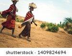 omo valley  ethiopia   november ...   Shutterstock . vector #1409824694