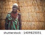 omo valley  ethiopia   november ...   Shutterstock . vector #1409825051
