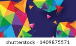 modern and colorful abstract background for print, wall art, mural, banner, poster, etc.