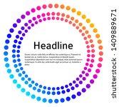 design elements symbol editable ... | Shutterstock .eps vector #1409889671