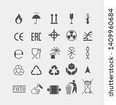 packaging flat vector symbols....   Shutterstock .eps vector #1409960684