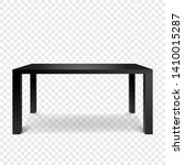 black empty table islated on... | Shutterstock .eps vector #1410015287
