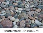 pebbles on a beach | Shutterstock . vector #141003274