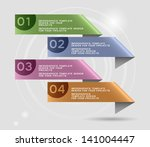 infographics design with... | Shutterstock .eps vector #141004447
