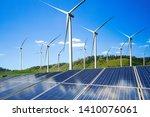 solar energy panel photovoltaic ... | Shutterstock . vector #1410076061