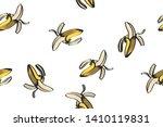 banana illustration  total... | Shutterstock .eps vector #1410119831