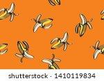banana illustration  total... | Shutterstock .eps vector #1410119834